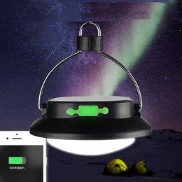 iluminación led de células solares Rebajas Banco al aire libre durable recargable ligero del poder de la recarga de GPS del teléfono celular de la linterna que acampa de la energía solar llevada