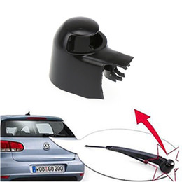 Wholesale vw caddy - 2016 Black Rear Wiper Washer Arm Blade Cover Cap For VW  MK5  Golf  Polo  Passat  Caddy  Touran