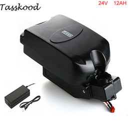 Wholesale ebike 24v - No taxes Ebike battery frog case 24v 12ah rechargeable battery with charger