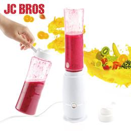 Wholesale Blender Smoothies - 500ml Electric Juicer Portable Fruit Juice Mixer Drink Bottle Multifunction Smoothie Maker Juice Blender Kitchen Tools Eu Plug