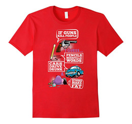 Wholesale Green Killing - 2nd amendment t shirt If Guns Kill People