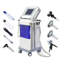 skin deep Coupons - 2019 hydrafacial water dermabrasion skin deep cleansing machine water mesotherapy gun RF skin care lift facial rejuvenation hydra CE DHL