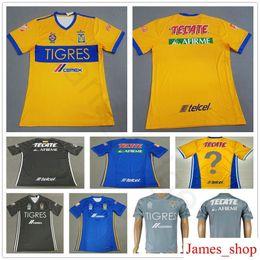 e11d51f67 2018 Mexican League Club Tigres UANL Soccer Jersey 4 H.Ayala 8 ZEL ARAYAN 9  VARGAS 10 GIGNAC 18 SOSA Customize Football Shirt