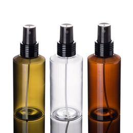2019 косметические бутылки зеленый 100 мл 150 мл пластиковые парфюмированная вода штраф спрей бутылка зеленый прозрачный янтарь путешествия косметическая упаковка бутылки быстрая доставка F1381 дешево косметические бутылки зеленый