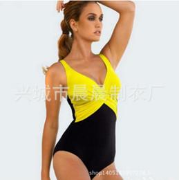 Wholesale Plus Size Women Swim Tops - Plus Size Bathing Suits 2017 New Style Print Two Piece Top Quality Sexy Swimming Suit For Women Bikini Set Hot Sale