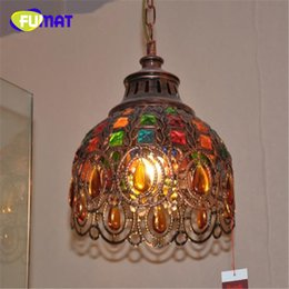Wholesale Chinese Style Pendant Lights - FUMAT Chinese Style Retro Creative Concise Classical Style Pendant Light Aisle Livingroom Restaurant Decoration Lamp Free Shipping
