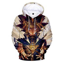 Mutou Yuugi Muto Yugi Mens Hoodies Duel Monsters Yuu Gi Ou Yu-gi-oh King Of Games Sweatshirt Streetwear Anime Hoodie Long Hooded Hoodies & Sweatshirts