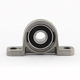 WALFRONT 10mm in lega di zinco con cuscinetto cuscinetto cuscinetto alloggiamento cuscinetti Inserisci sfera metallica supporto rullo sferico KP000 supplier roller blocks da blocchi di rulli fornitori