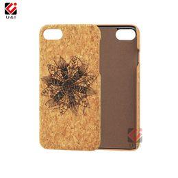 Argentina Caja de madera del teléfono celular del corcho natural barato del precio al por mayor para el iPhone 6 7 8Plus X XS XR máximo Suministro