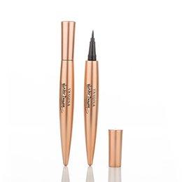 Wholesale green natural products - Black waterproof eyeliner quick-drying waterproof not blooming beauty products eye shadow long-term eyeliner makeup tools