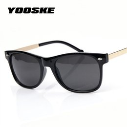 Wholesale wholesale brown rice - YOOSKE Vintage Men Sunglasses Women Male Female Sun Glasses Fashion Classic Rice spike Sunglass Goggles Shades UV400 Protection