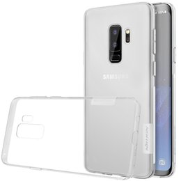 Wholesale Nature Soft - TPU Transparent soft case for Samsung Galaxy S9 S9 PLUS S7 NILLKIN Nature Series Luxury brand with retailed package