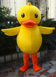 Costume de mascotte canard jaune joli petit canard animal de dessin animé Cospaly personnage adulte costume de fête halloween costume de carnaval ? partir de fabricateur