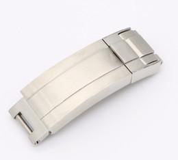 CARLYWET 9мм х 9мм Новый ремешок для часов с пряжкой Glip Flip Lock Застежка для установки серебристая матовая 316L из цельного металла из нержавеющей стали supplier flip watches от Поставщики наручные часы купить