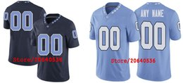Wholesale Cheap Custom Heels - Cheap Custom NORTH CAROLINA TAR HEELS College jersey Mens Women Youth Kids Personalized Any number of any name Stitched Football jerseys