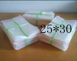 Wholesale Poly Bags 25 - Clear Resealable Cellophane BOPP Poly Bags 25*30cm Transparent Opp Bag Packing Plastic Bags Self Adhesive Seal 25*30 cm