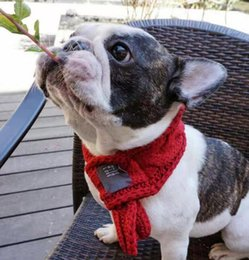 Wholesale Fashion Dog Accessories - Fashion pets scarf warm head scarf accessories embroidery neckerchief for small to large cats dogs free shipping