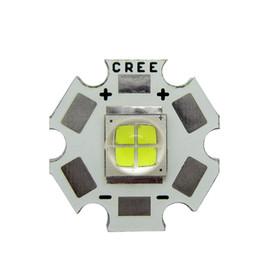 R tablero online-Cree MK-R MKR La luz blanca 6000k llevó la luz 6V / 12V del microprocesador con el tablero 20MM 10pcs / lot del PCB de cobre