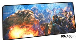 Wholesale gears wars - gears of war mouse pad gamer 900x400mm notbook mouse mat large gaming mousepad large Indie Pop pad PC desk padmouse