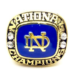 Wholesale alabama rings - Factory Direct Sale 1973 sugar bowl notre dame alabama national championship ring # PARSEGHIAK with single display box