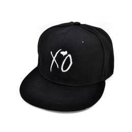 Argentina Moda XO hat the Weeknd Gorra de béisbol para hombre mujer marca sombreros Snapback cheap xo cap Suministro