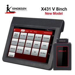 Argentina Inicie X431 V 8 pulgadas Multi-idioma X-431 Pro mini Sistema completo de herramienta de diagnóstico automotriz x-431 v con Bluetooth / Wifi Dos años de actualización gratuita Suministro