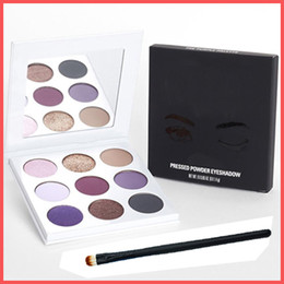 Wholesale Collections Gifts - Free Shipping by ePacket 9 Colors Eyeshadow Palette Fall Collection The Purple Palette Makeup Eye shadow Kyshadow with Gifts