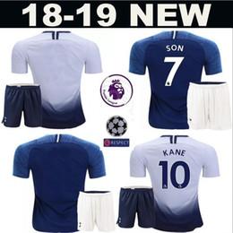 Hot Spur 2018 2019 Men Soccer Harry Kane Jersey Set Premier League Erik  Lamela Dele Alli Mousa Dembele Football Shirt Kits White Uniform 0b41bf90c