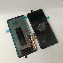 Sostituzione originale del convertitore analogico / digitale del touch screen dell'esposizione LCD di nuova prova per Samsung Galaxy Note 8 N950 da telefono mobile di zte all'ingrosso fornitori