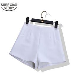 Wholesale Korean Women S Casual Wear - 2017 Summer New Korean Version Of The High Waist Fashion All-match A Word Wide Leg Shorts Women Wear Slim Casual 590C 30