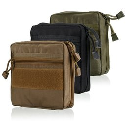 Wholesale medical pouches - Outdoor multi-function attachment bag medical bag rinse finishing pack tactical pouch sub package
