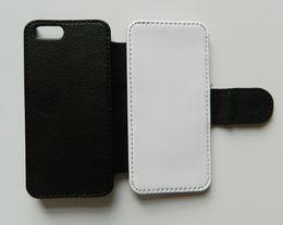 Estojo de couro da aleta para o iphone 5 5s se sublimação case + pano de poliéster para impressão em branco de Fornecedores de estojo de couro sublimado