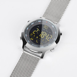 Argentina el mejor EX18 Sport Smart Watch IP68 Impermeable 5ATM Pasómetro Xwatch Natación Smartwatch Bluetooth Reloj para Smartphone supplier best smartwatch for ios Suministro