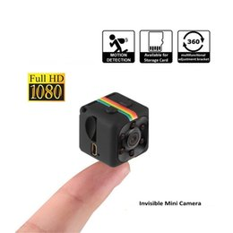 Wholesale Wholesale Used Tv - Mini Camera Small Camera 1080P HD Portable Sports Camera with TV-OUT Digital Video Photos Cube Cameras Supports Motion Detection Nanny Cam