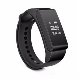 Wholesale Bluetooth Bracelet Headset - Smart Wristband Talkband iBand M8 Smart Band Bracelet Bluetooth Headset Headphone Smart Health Watch for IOS Android