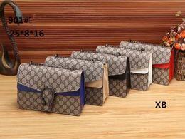 Wholesale Designer Branded Hand Bags - Women Handbags Famous Designer Brand Bags Luxury Ladies Hand Bags and Purses Messenger Shoulder Bags G901#