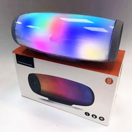 Canada Z11 bluetooth haut-parleur 7 couleurs impulsion flash musique mp3 lecteur super bass handfree étanche subwoofer lecteur de carte SD avec micro puissance 1200 mah cheap pulse bluetooth mini speaker Offre