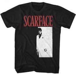 Wholesale pictures logos - Scarface DVD Movie Picture Logo Adult T Shirt Classic Movie
