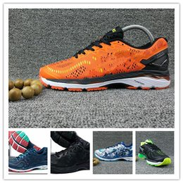 Wholesale New Style For Sale - 2017 HOT SALE TOP QUALITY New Style Asiesx Gel-kayano 23 Running Shoes For Men Original Fashion CASUAL Sport Shoes