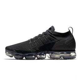 33bf6cd12f2 zapatos dhl Rebajas DHL Nike Air Max vapormax Vapormax de alta calidad  blanco negro plata zapatos