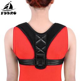 51e9d14d9a19c FDBRO Back Posture Corrector Belt Adjustable Clavicle Spine Brace Shoulder  Lumbar Back Support Belt Posture Correction Corset
