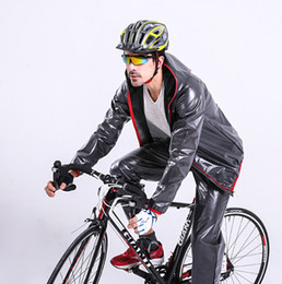 Deutschland Regenmantel für Männer und Frauen Sportbekleidung Outdoor-Regenmantel Regenjacke Regenhose für Mountainbike-Ausrüstung cheap split sportswear Versorgung