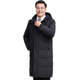 parkas for winter Promo Codes - 2018 new Winter Jackets Men Coats Mens Fashion Thick Warm jacket Hooded Plus Size Jackets For Men Winter Parkas