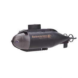 Wholesale Toy Submarines Radio Control - 777-216 Mini RC Racing Submarine Remote Control Radio Boat RC Bath Water Toys with 40MHz Transmitter