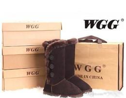 botas de corcho Rebajas 2018 ENVÍO RÁPIDO Alta calidad WGG mujeres clásicas botas altas Botas de mujer nieve botas de invierno botas de cuero