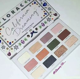 Wholesale Natural Eye Health - DHL free shipping !Makeup NEW LORAC California Dreaming Eye Shadow Palette Health & Beauty 12 color 9.72g