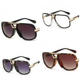 Wholesale big nose - Retro Big Frame Sunglasses Creative Men And Women Multi Color Sun Glasses Ladies Fashion Quality Hinge Nose Eyeglasses Hot Sale 14 5ld Z