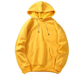 Wholesale plain pullover sweater - Best Quality Plain Hoodies Sweatshirt Men Women Lovers Cotton Casual Hoodie Spring Autumn Pullover Sweater Clothing