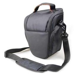Bolso de la cámara a prueba de agua profesional Bolso de hombro de la caja de la bolsa de triángulo protectora para la cámara DSLR para Canon DSLR EOS para Nikon desde fabricantes