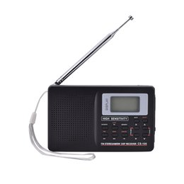 Wholesale Frequency Receiver - FM AM SW LW TV Sound Full Frequency Receiver Receiving Radio With Alarm Clock High Quality